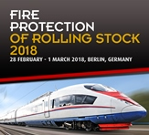 Fire Protection of Rolling Stock 2018 advert